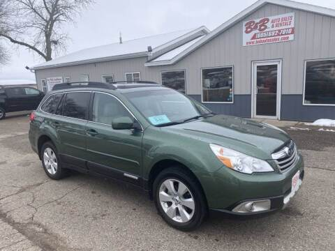 2012 Subaru Outback for sale at B & B Auto Sales in Brookings SD