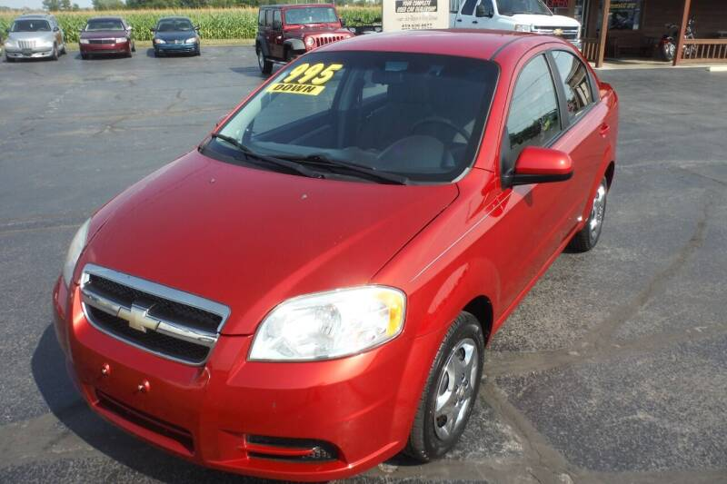 2010 Chevrolet Aveo for sale at Bryan Auto Depot in Bryan OH