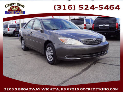 2003 Toyota Camry for sale at Credit King Auto Sales in Wichita KS