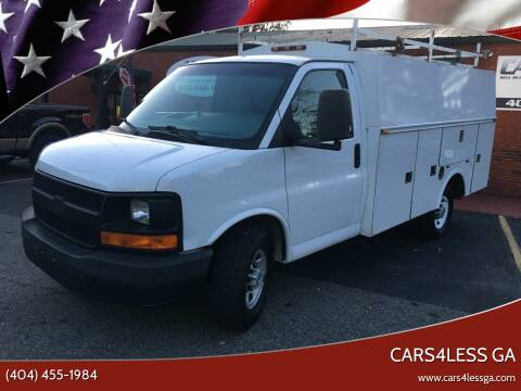 2008 Chevrolet Express Cutaway for sale at Cars4Less GA in Alpharetta GA