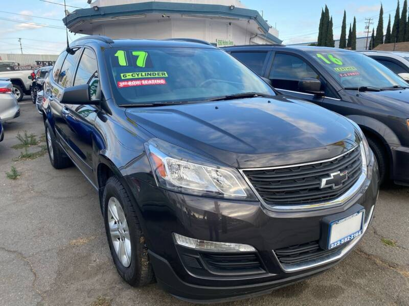 2017 Chevrolet Traverse for sale at CAR GENERATION CENTER, INC. in Los Angeles CA
