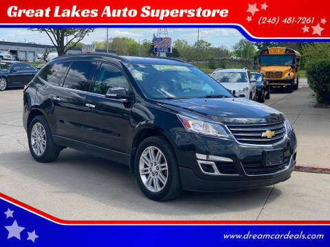 2013 Chevrolet Traverse for sale at Great Lakes Auto Superstore in Pontiac MI