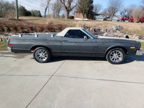 1973 Ford Ranchero for sale at HIGHWAY 12 MOTORSPORTS in Nashville TN