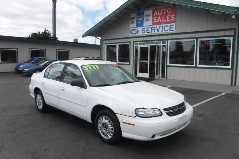 2001 Chevrolet Malibu for sale at 777 Auto Sales and Service in Tacoma WA