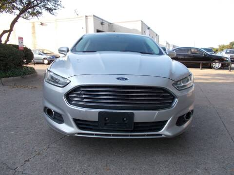 2013 Ford Fusion for sale at ACH AutoHaus in Dallas TX