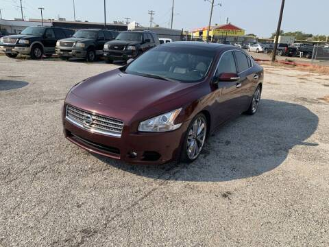 2009 Nissan Maxima for sale at Texas Drive LLC in Garland TX