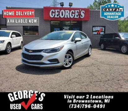 2018 Chevrolet Cruze for sale at George's Used Cars - Pennsylvania & Allen in Brownstown MI