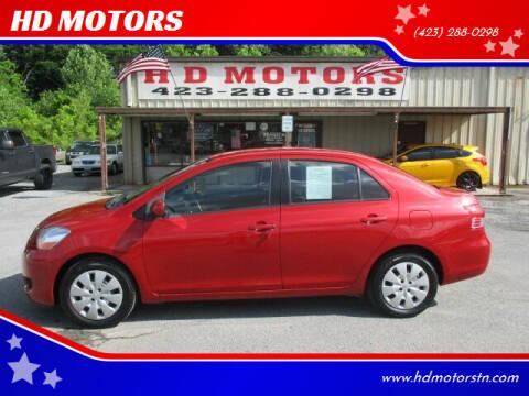 2008 Toyota Yaris for sale at HD MOTORS in Kingsport TN