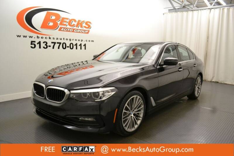 2017 BMW 5 Series for sale at Becks Auto Group in Mason OH