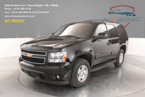2013 Chevrolet Tahoe for sale at Elvis Auto Sales LLC in Grand Rapids MI
