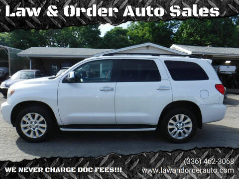 2010 Toyota Sequoia for sale at Law & Order Auto Sales in Pilot Mountain NC
