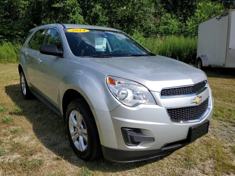 2014 Chevrolet Equinox for sale at Oxford Auto Sales in North Oxford MA