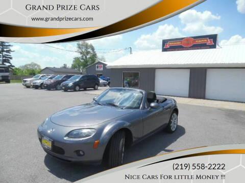 2008 Mazda MX-5 Miata for sale at Grand Prize Cars in Cedar Lake IN