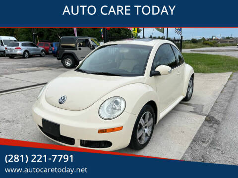 2006 Volkswagen New Beetle for sale at AUTO CARE TODAY in Spring TX