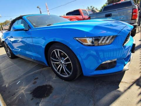2017 Ford Mustang for sale at Rey's Auto Sales in Stockton CA