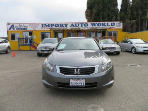2010 Honda Accord for sale at Import Auto World in Hayward CA