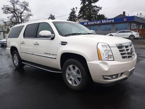 2007 Cadillac Escalade ESV for sale at All American Motors in Tacoma WA