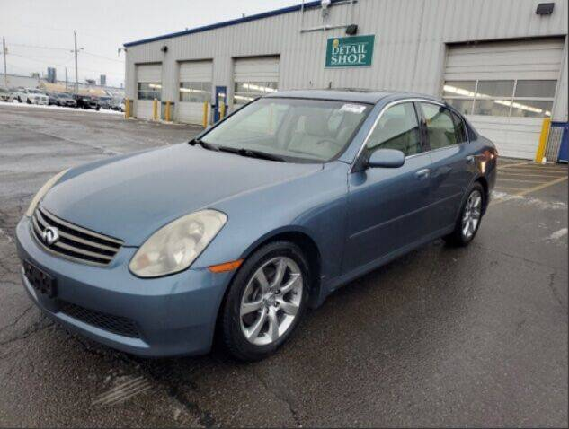2005 Infiniti G35 for sale at HW Used Car Sales LTD in Chicago IL