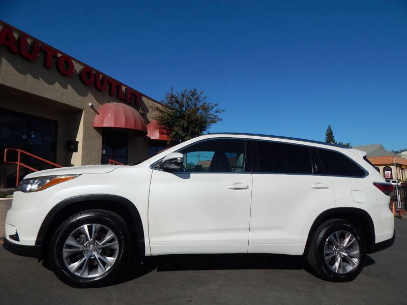 2015 Toyota Highlander for sale at Direct Auto Outlet LLC in Fair Oaks CA
