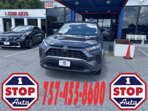 2021 Toyota RAV4 for sale at 1 Stop Auto in Norfolk VA