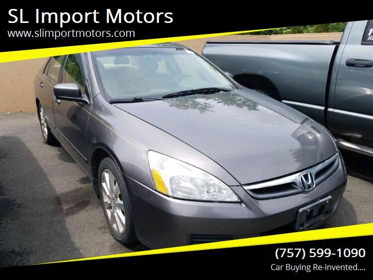2007 Honda Accord for sale at SL Import Motors in Newport News VA