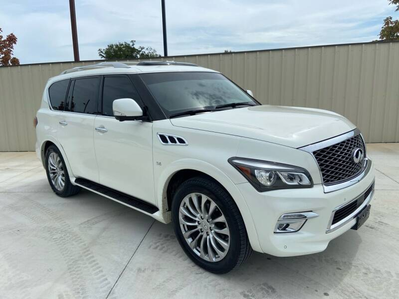 2015 Infiniti QX80 for sale at JCT AUTO in Longview TX