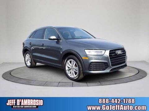 2018 Audi Q3 for sale at Jeff D'Ambrosio Auto Group in Downingtown PA
