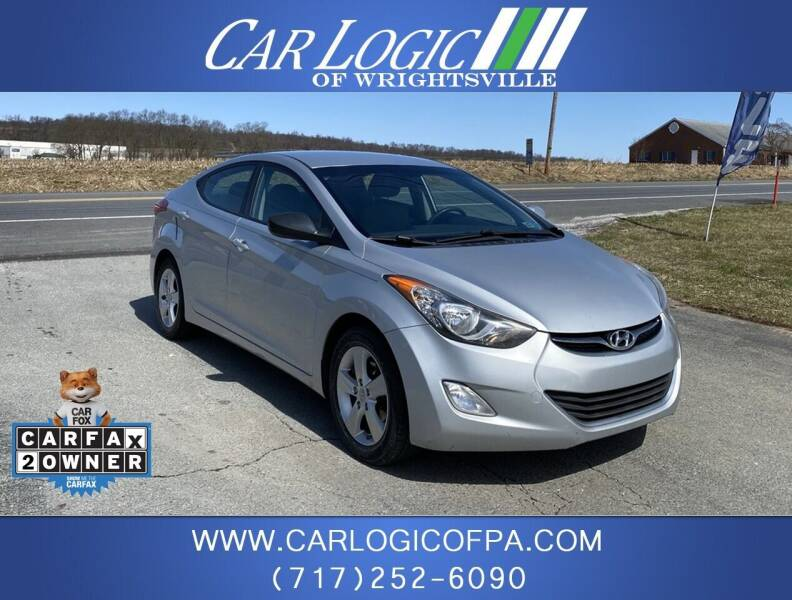 2012 Hyundai Elantra for sale at Car Logic in Wrightsville PA