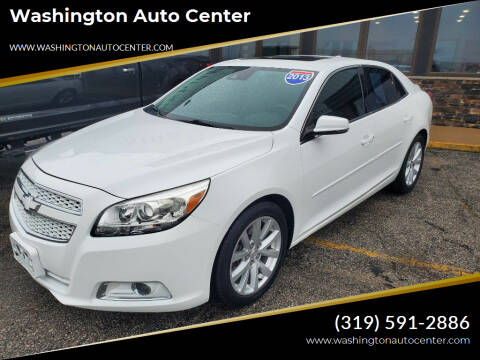 2013 Chevrolet Malibu for sale at Washington Auto Center in Washington IA