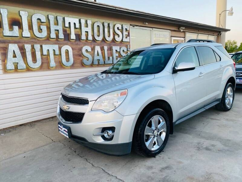 2012 Chevrolet Equinox for sale at Lighthouse Auto Sales LLC in Grand Junction CO