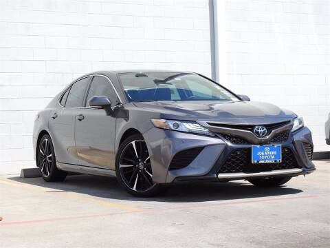 2019 Toyota Camry for sale at Joe Myers Toyota PreOwned in Houston TX