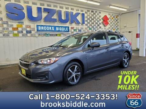 2019 Subaru Impreza for sale at BROOKS BIDDLE AUTOMOTIVE in Bothell WA
