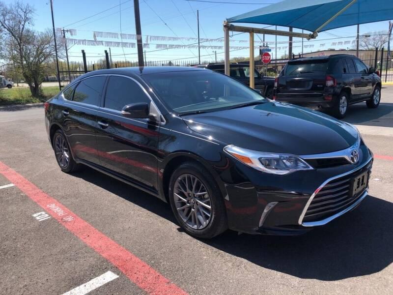2016 Toyota Avalon for sale at Gold Star Motors Inc. in San Antonio TX