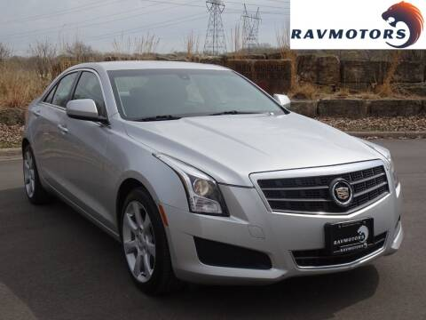 2013 Cadillac ATS for sale at RAVMOTORS in Burnsville MN