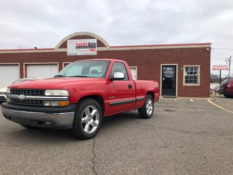 1999 Chevrolet Silverado 1500 for sale at Family Auto Finance OKC LLC in Oklahoma City OK