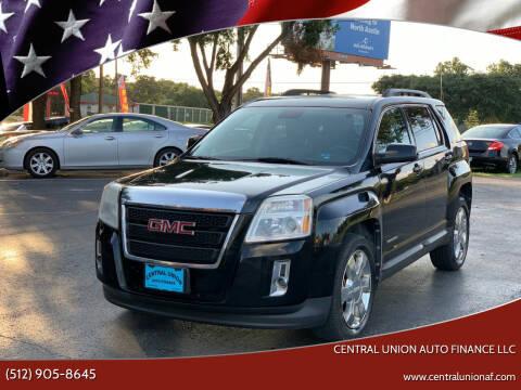 2012 GMC Terrain for sale at Central Union Auto Finance LLC in Austin TX