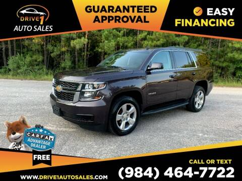 2015 Chevrolet Tahoe for sale at Drive 1 Auto Sales in Wake Forest NC