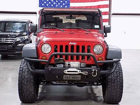 2009 Jeep Wrangler for sale at Texas Motor Sport in Houston TX