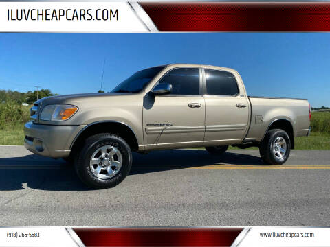 2005 Toyota Tundra for sale at ILUVCHEAPCARS.COM in Tulsa OK