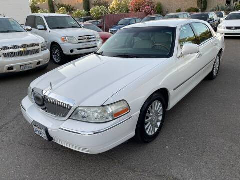 2003 Lincoln Town Car for sale at C. H. Auto Sales in Citrus Heights CA