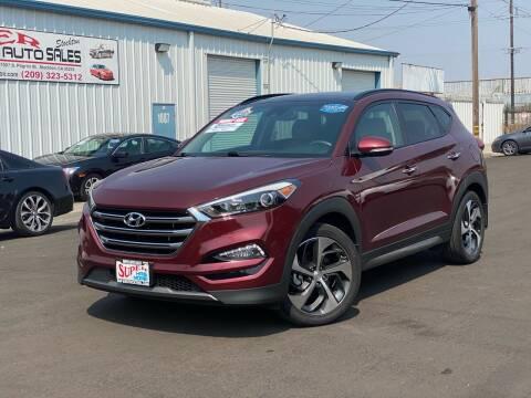 2016 Hyundai Tucson for sale at SUPER AUTO SALES STOCKTON in Stockton CA