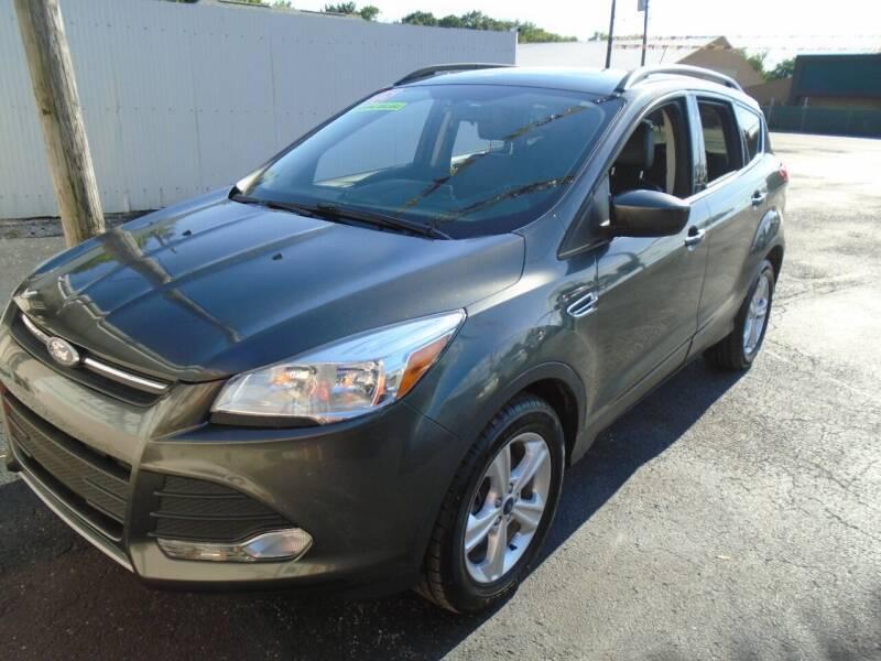 2015 Ford Escape for sale at River City Auto Sales in Cottage Hills IL