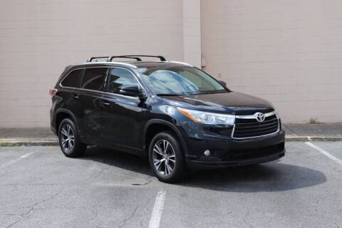 2016 Toyota Highlander for sale at El Patron Trucks in Norcross GA