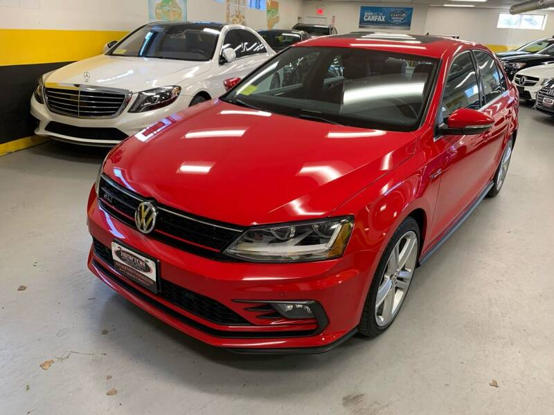 2017 Volkswagen Jetta for sale at Newton Automotive and Sales in Newton MA