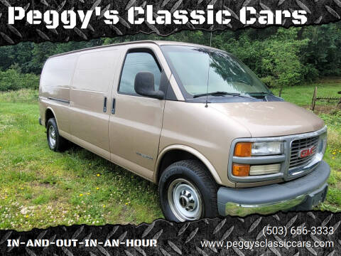 2001 GMC Savana Cargo for sale at Peggy's Classic Cars in Oregon City OR
