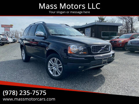 2008 Volvo XC90 for sale at Mass Motors LLC in Worcester MA
