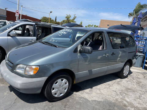 2000 Toyota Sienna for sale at Olympic Motors in Los Angeles CA