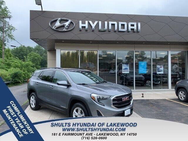 2018 GMC Terrain for sale at Shults Hyundai in Lakewood NY