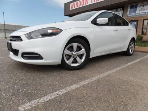 2015 Dodge Dart for sale at Flywheel Motors, llc. in Olive Branch MS