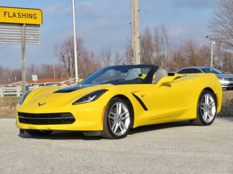 2014 Chevrolet Corvette for sale at Tonys Pre Owned Auto Sales in Kokomo IN